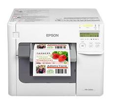爱普生Epson TM-C3520 高清彩色标签打印机