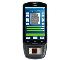 全新AUTOID9指纹识别手持终端