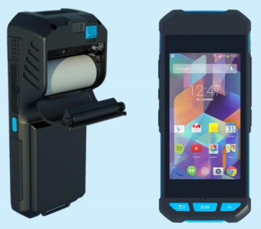 便携式手持打印机 DT98数据采集设备